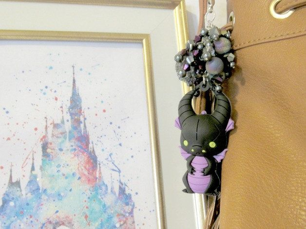 Key Chain, Maleficent, Dragon, fantasy, Disney, funko pop, upcycle, purse charm…