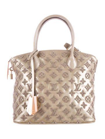 Louis Vuitton Monogram Fascination Lockit Bag  89d9bd76ae294
