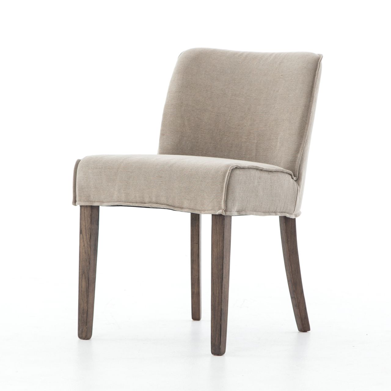 urban-rustic upholstered dining side chair   urban rustic, side