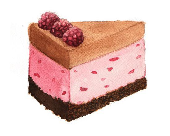 Ice Cream Cake Alicia Severson Rebanadas De Pastel Pastel Helado Dibujos Dulces