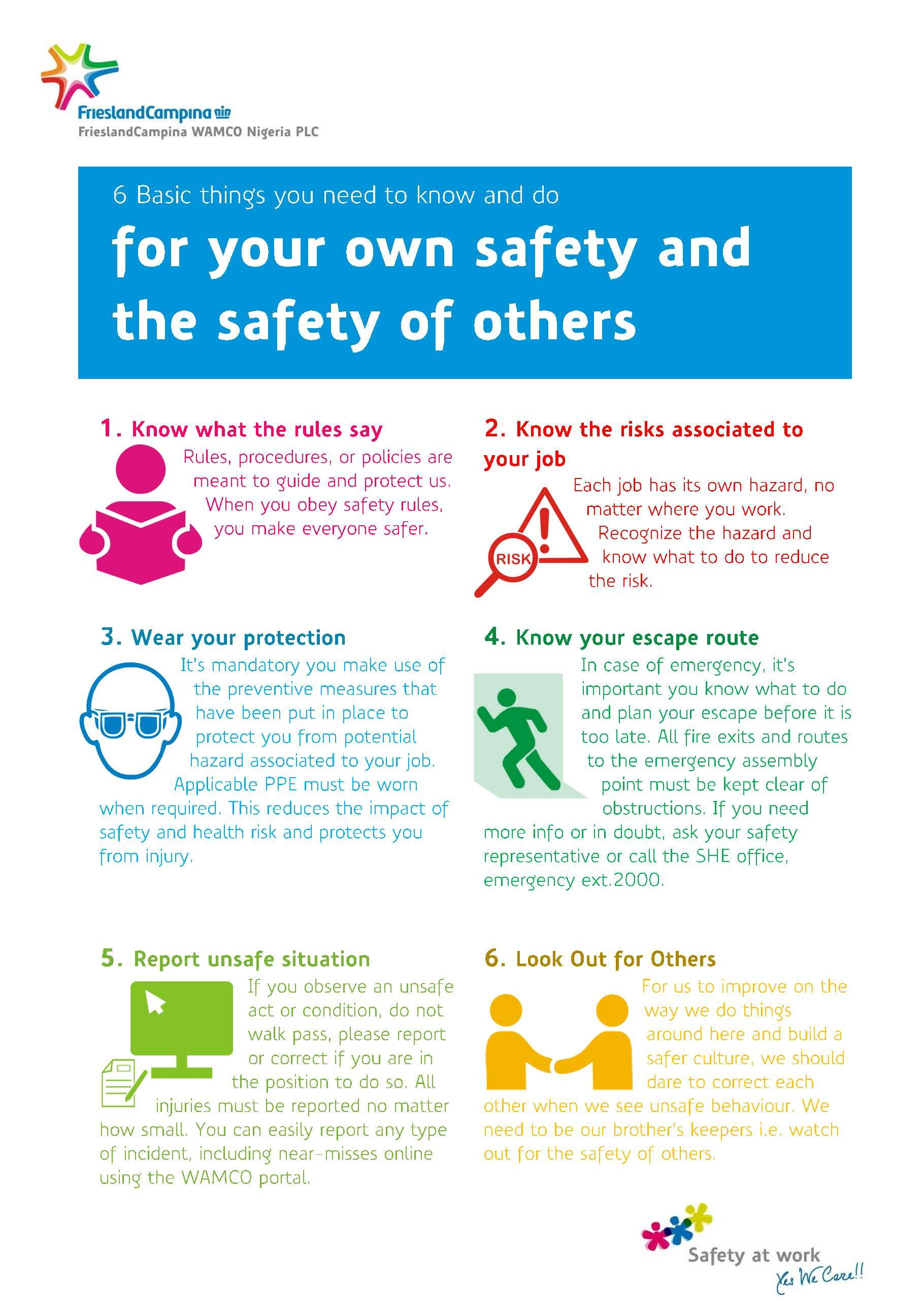 Safety at Work Occupational safety
