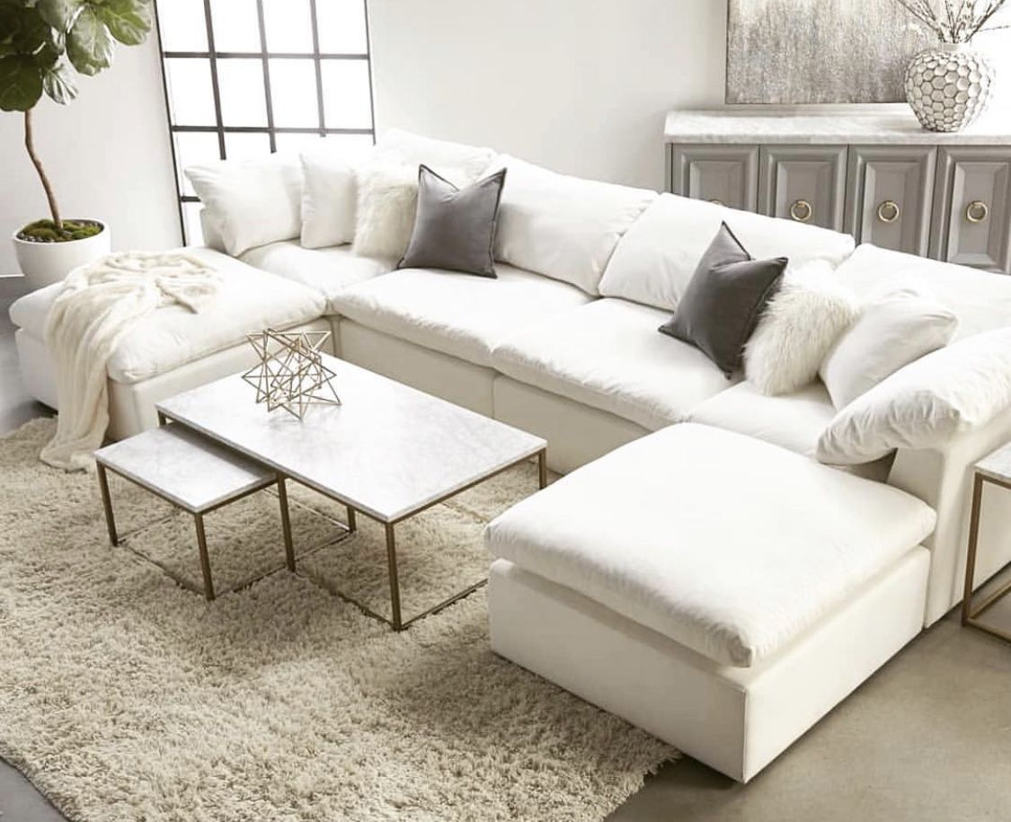 Restoration Hardware cloud sofa inspired Couches living