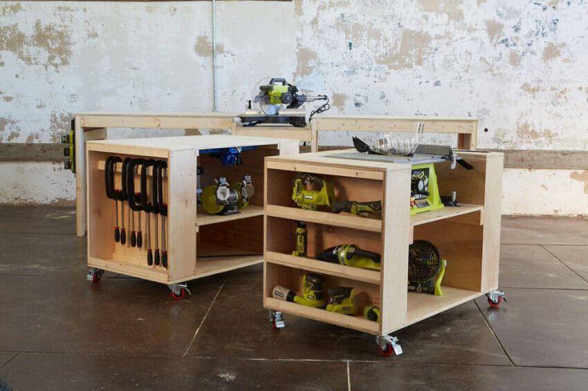Astounding 14 Power Tool Storage Ideas So You Never Lose Them Again Andrewgaddart Wooden Chair Designs For Living Room Andrewgaddartcom