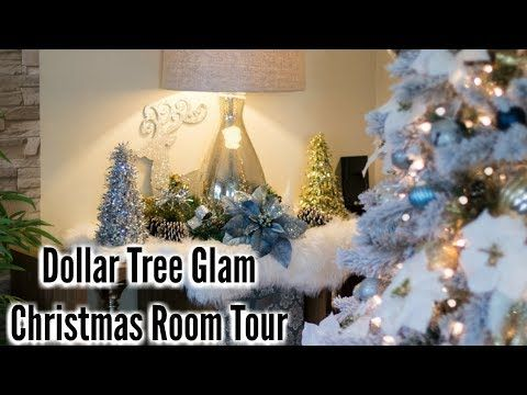 youtube christmas tree styles pinterest dollar tree finds room tour and christmas decor - Youtube Christmas Decorations