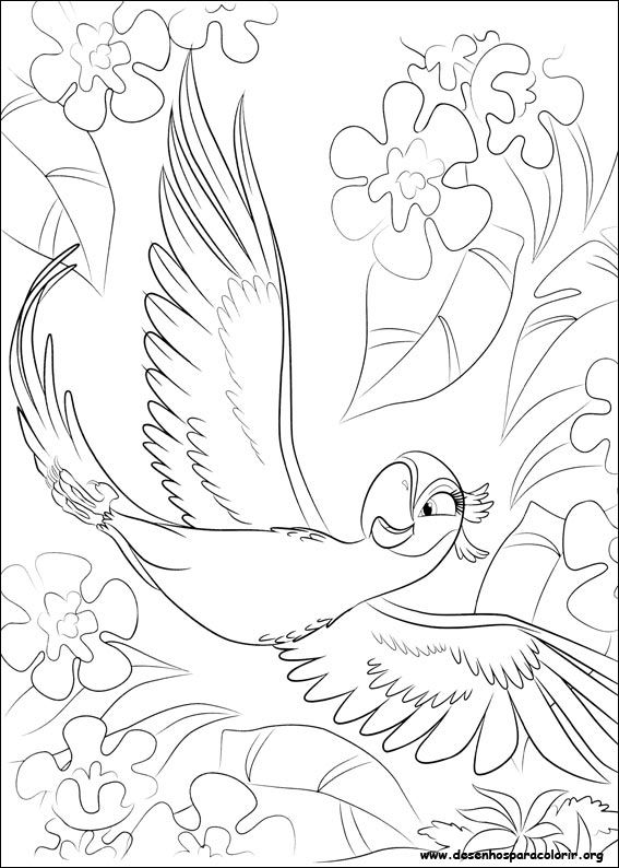 rio para colorir figura 8 my coloring pages pinterest
