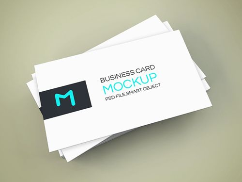 Elegant business cards mockup psd mockup pinterest mock up elegant business cards mockup reheart Image collections