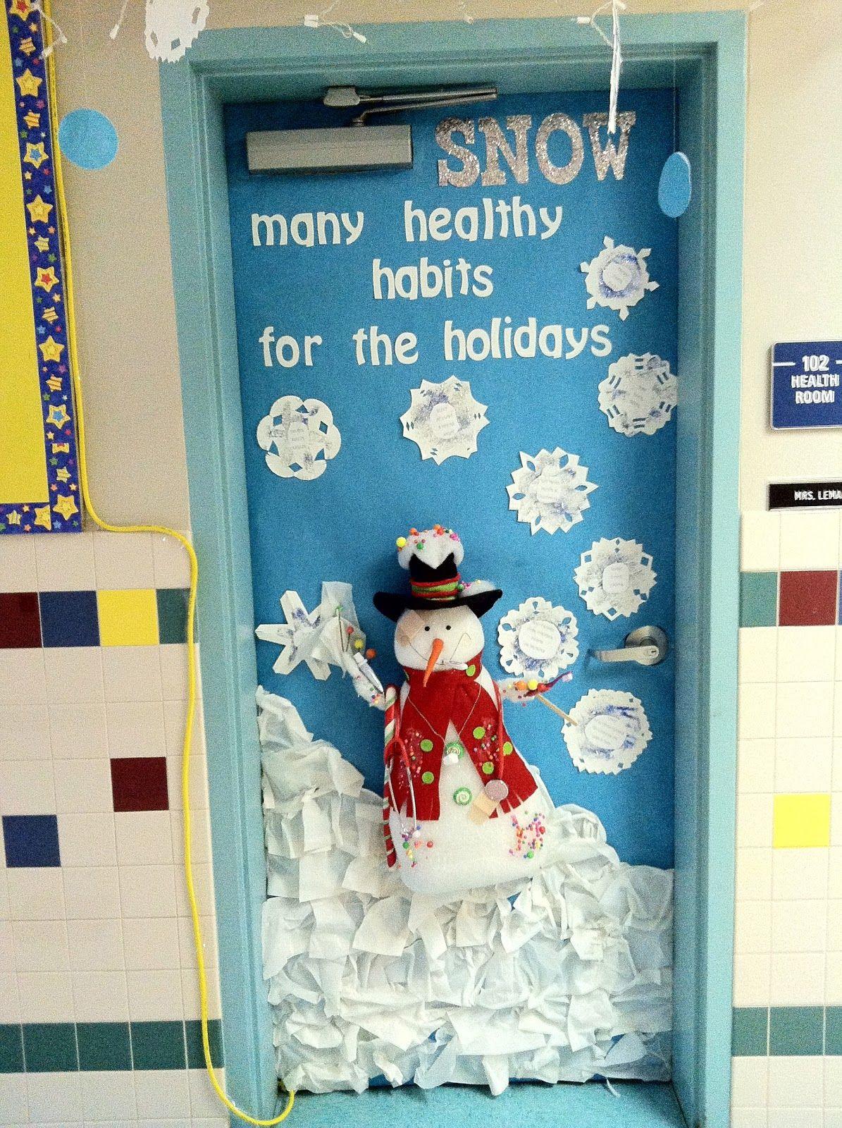 Mr. First Grade: Christmas Door Contest | Winter ...