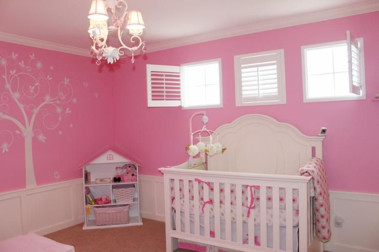 Pin By Creative Baby Bedding On Pink Baby Nursery Ideas   Baby Girl Nursery Room, Pink Baby Room, Pink Nursery