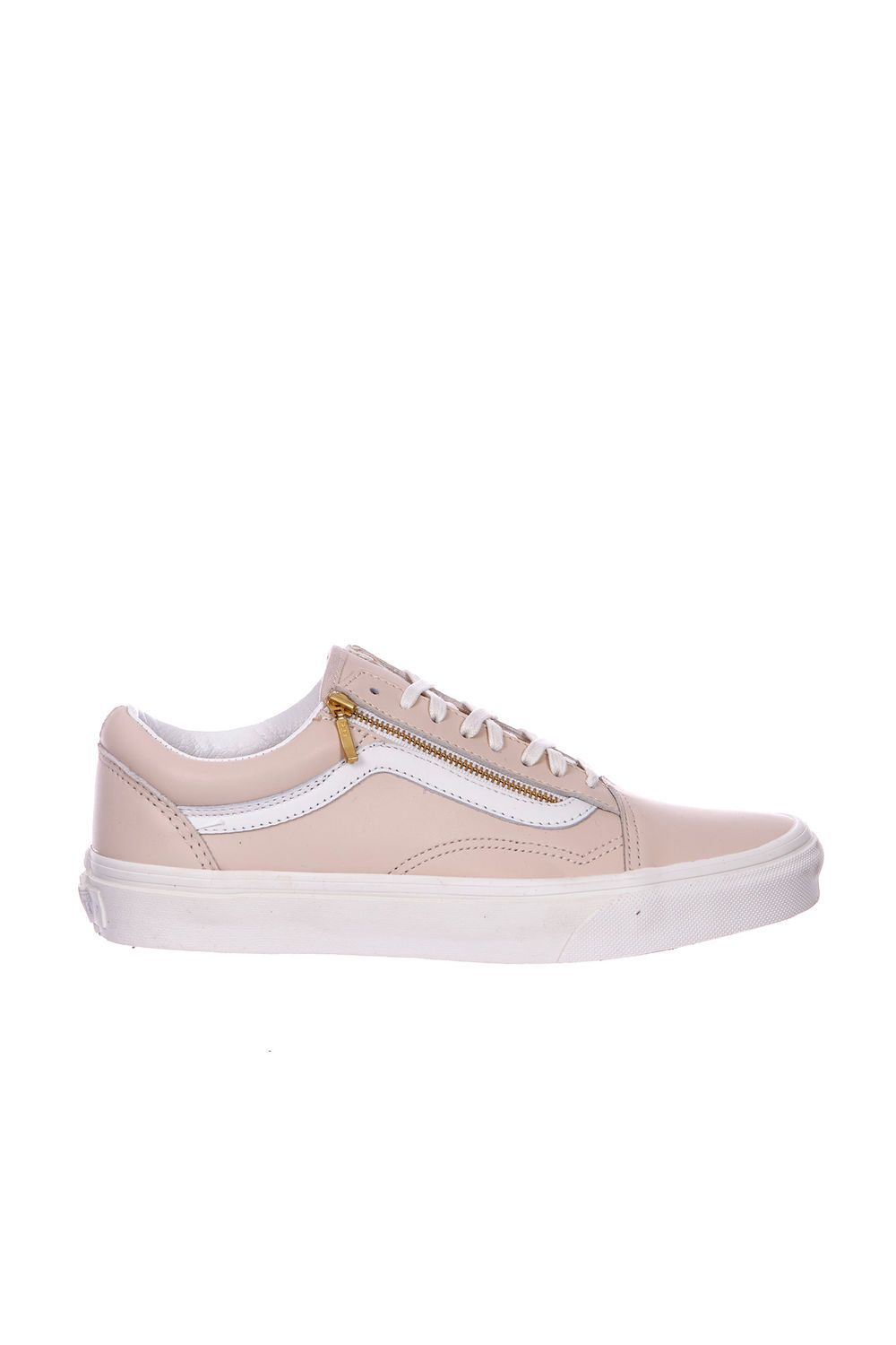 Vans Old Skool Leather Baskets Femme