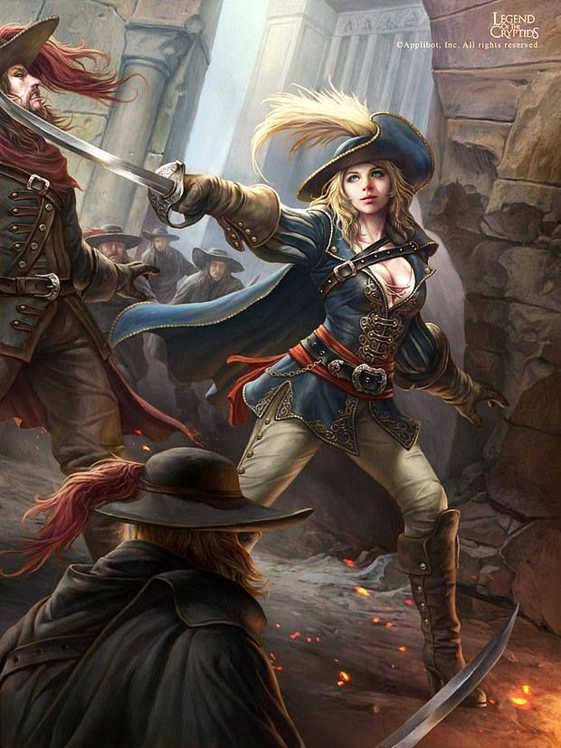 female musketeer | reference2 | Fantasy art, Pirate woman ... - photo#44