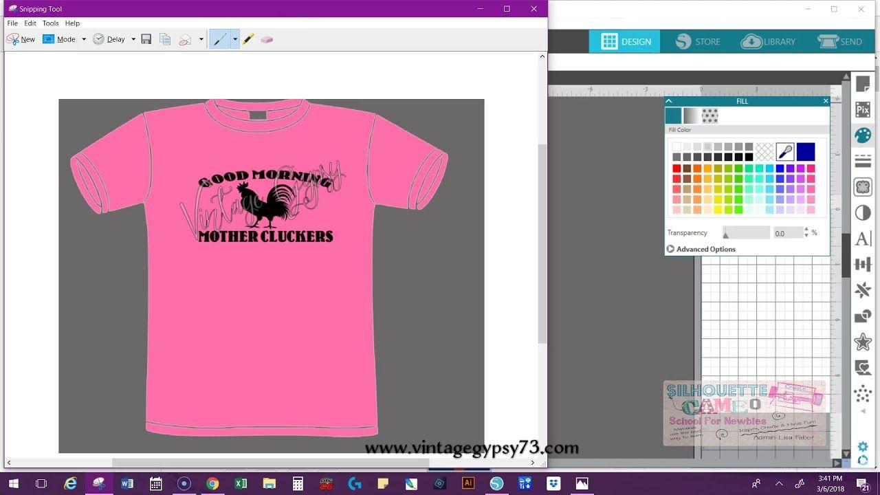 Download Shirt Mock Ups Using Silhouette Cameo Youtube Making Shirts How To Make Tshirts Create Shirts