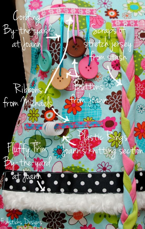 The Busy Hands Fidget Apron Pattern & Tutorial Hopeful