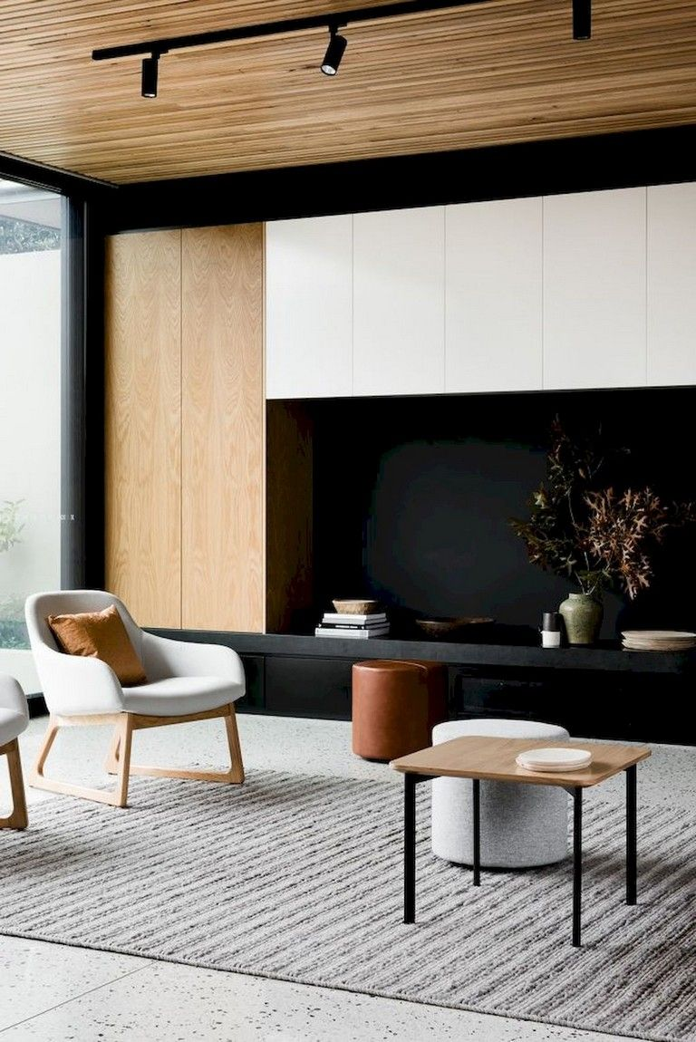 55 Amazing Modern Minimalist Living Room Inspirations