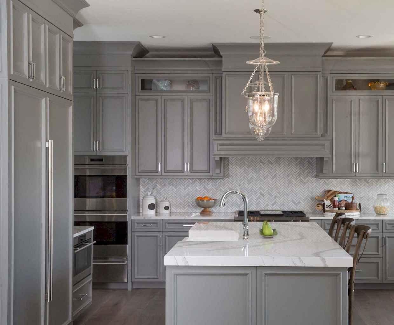 75 elegant gray kitchen makeover for farmhouse