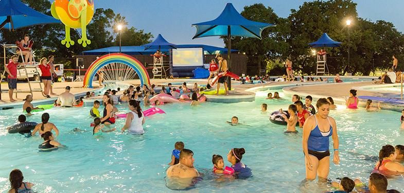 Special Events Tuesdays 2 For 1 Entry Special Swim Safe Dive In Movie Parks And Recreation