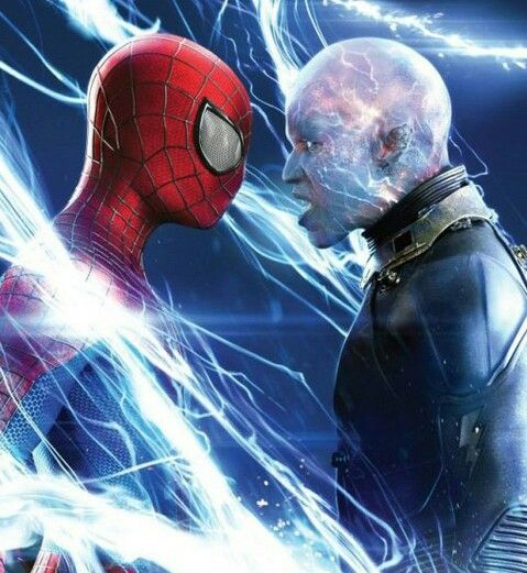 Spider Man Electro Face The Amazing Spiderman 2 Spiderman