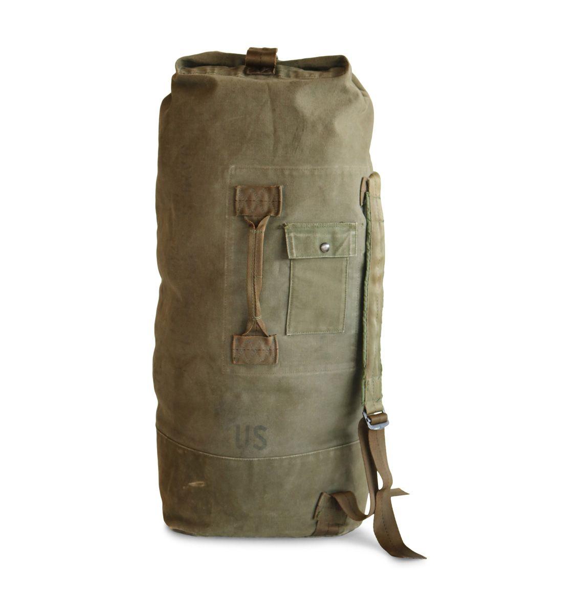 U.S. ARMY Duffel Bag Vietnam War Era  d220815deb4