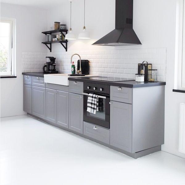 Bodbyn Ikea Keuken Grijs 01 Home In 2019 Kitchen Ikea Bodbyn
