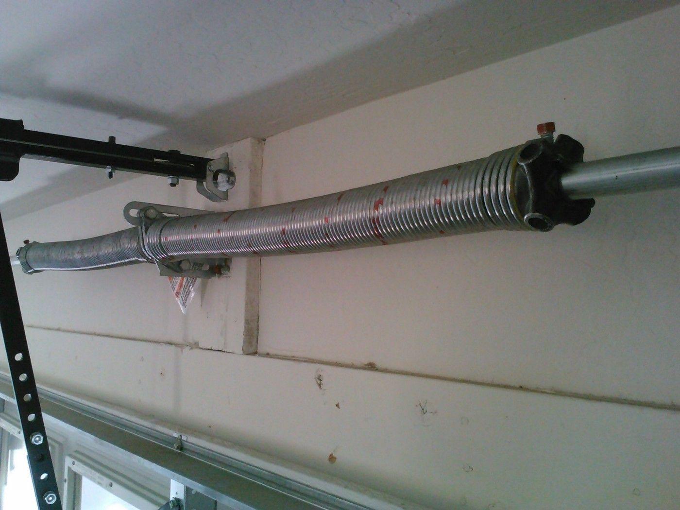 Garage door spring replacementget your faulty garage door