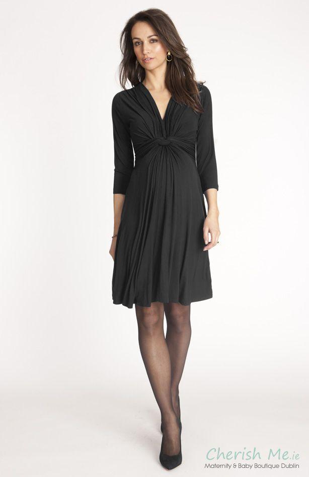 e44da902a1de1 Seraphine Jolene maternity dress - Black | maternity & nursing wear ...