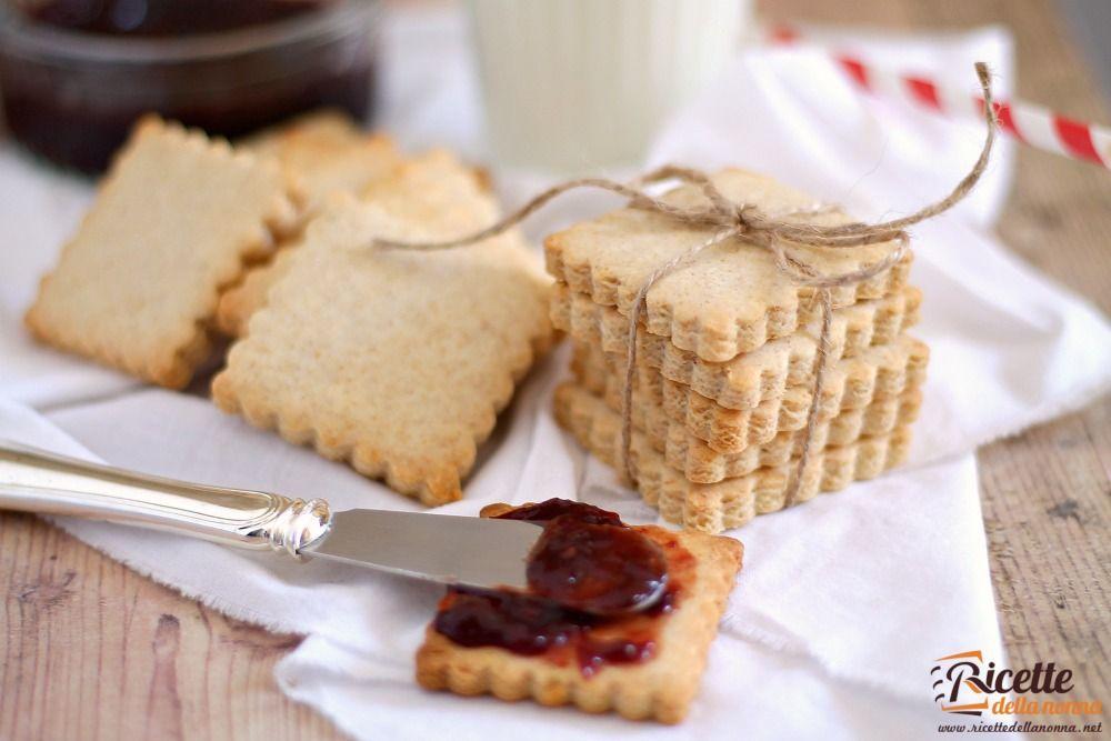 Ricetta biscotti secchi da colazione