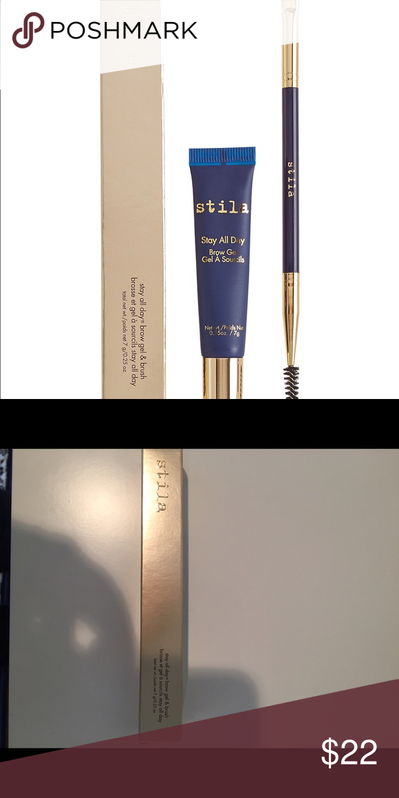 Stila Stay All Day Brow Gel And Brush Stila Stay All Day Brow Gel