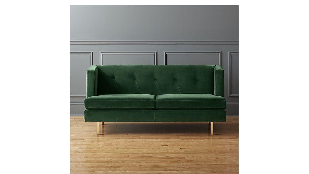 Avec Apartment Sofa With Brass Legs Apartment Sofa Apartment