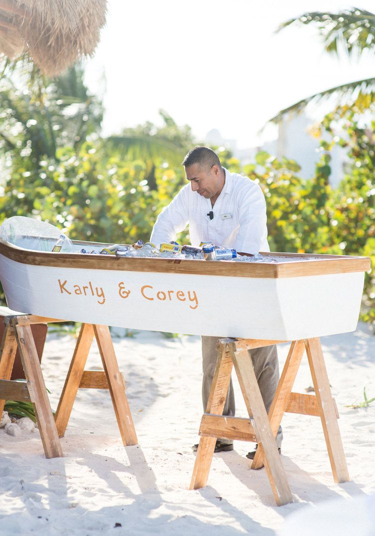 KARLY + COREY\'S WEDDING ON THE BEACH IN MEXICO | Destination wedding ...