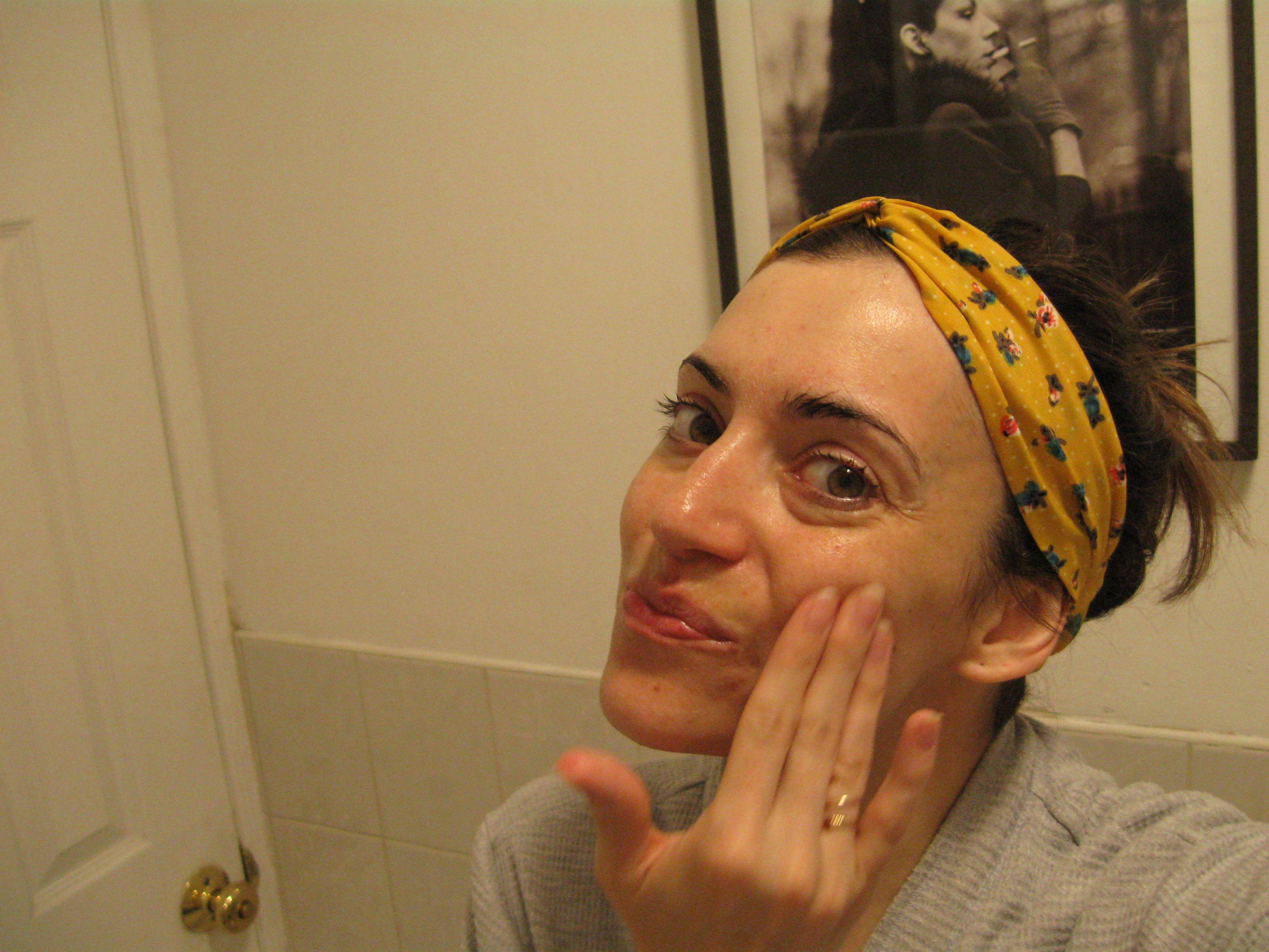 At home facials