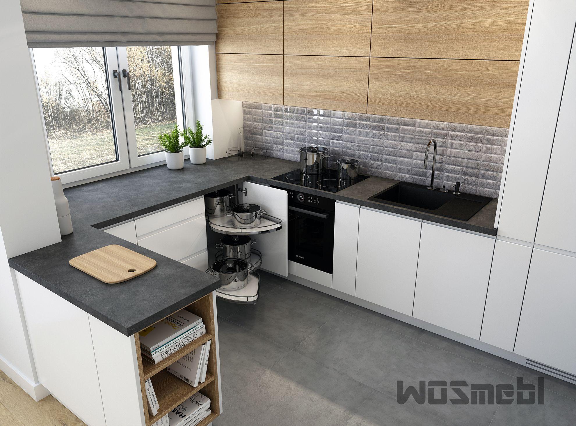 Realizacje Meble Kuchenne Na Wymiar Rzeszow Wosmebl Home Kitchen Kitchen Cabinets