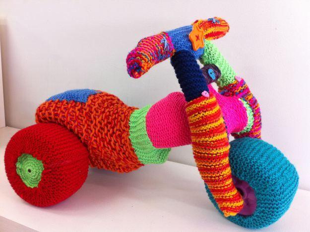 Yarnbombing #art