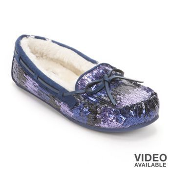 SO Sequin Moccasins - Women | Moccasins