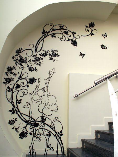 Fotos de dibujos para la pared imagui decoracion y for Decorar paredes con pintura
