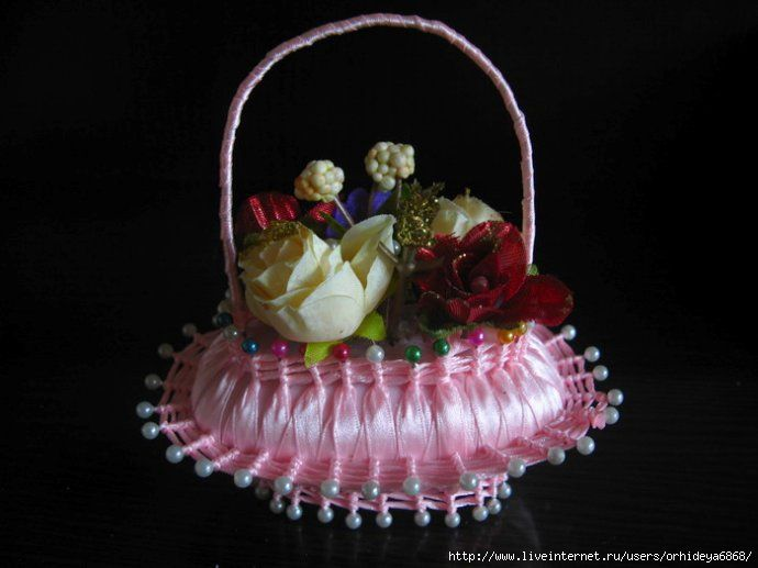How to make basket from soap and tapebasket-12