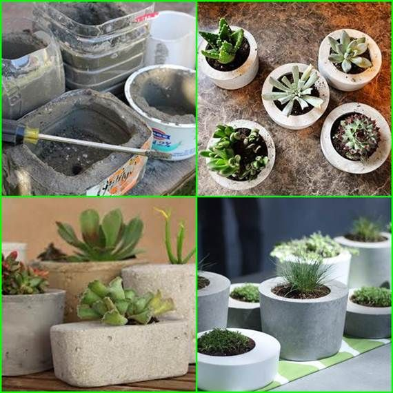 How To Make Concrete Planters Creative Diy Project 400 x 300