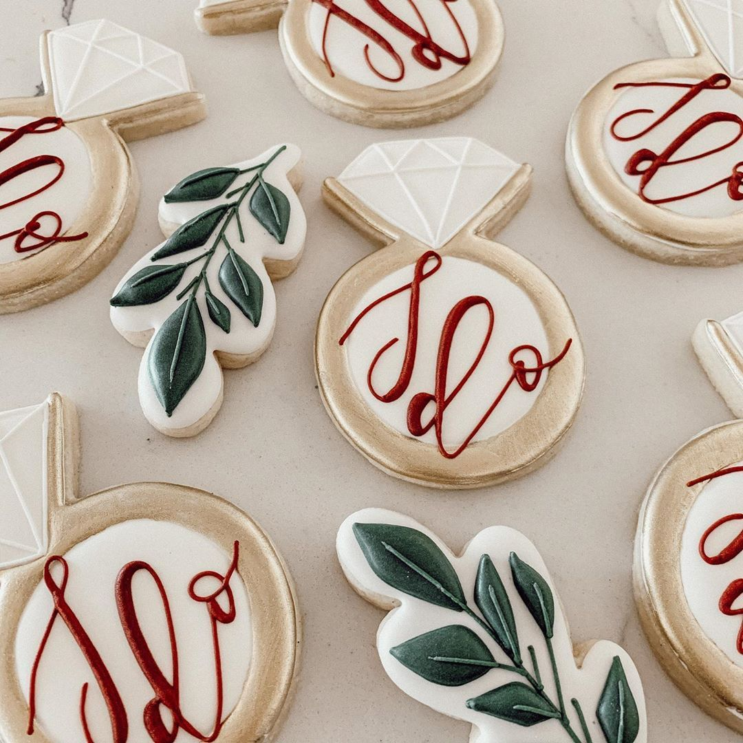 Pin on Bridal Cookies