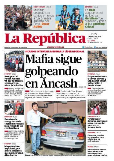 La Republica Lima 7 04 13 Memes Ecard Meme Ecards