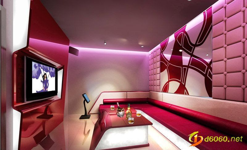 Fruits theme ktv room recreation leisure pinterest for Karaoke room design ideas