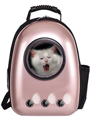 0ac20061274 Giantex Astronaut Pet Cat Dog Puppy Carrier Travel Bag Space Capsule  Backpack Breathable
