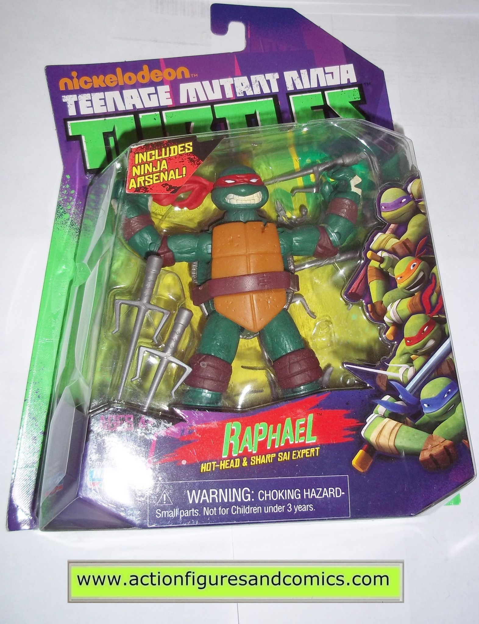 Teenage Mutant Ninja Turtles Raphael Raph 2012 Nickelodeon