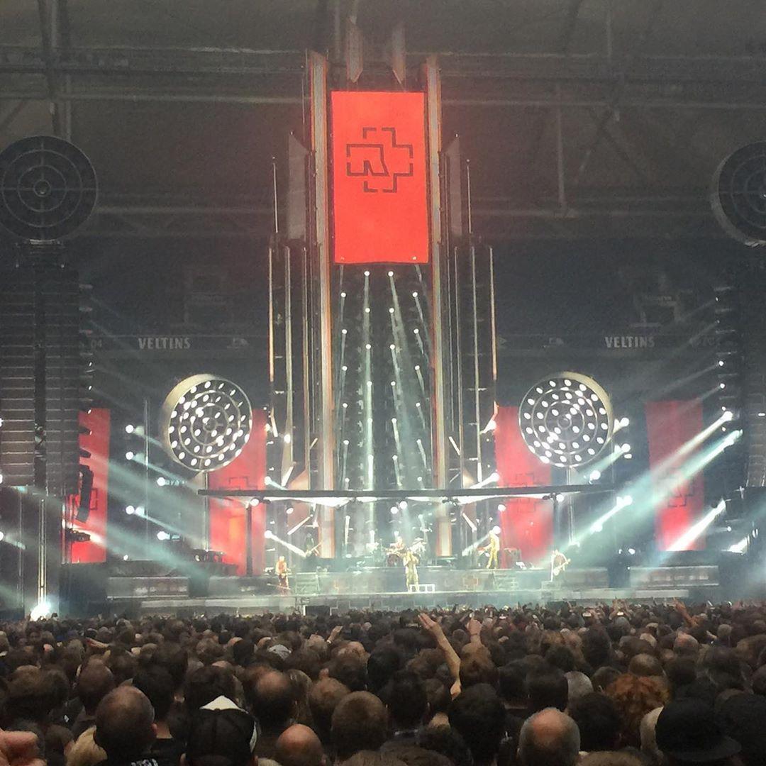 Hat Sich Gelohnt Rammstein Schlumpf Arena Gelsenkirchen Rammstein Europe Stadium Tour 2019 Deutsch Instagram Instagram Posts Recording Microphone