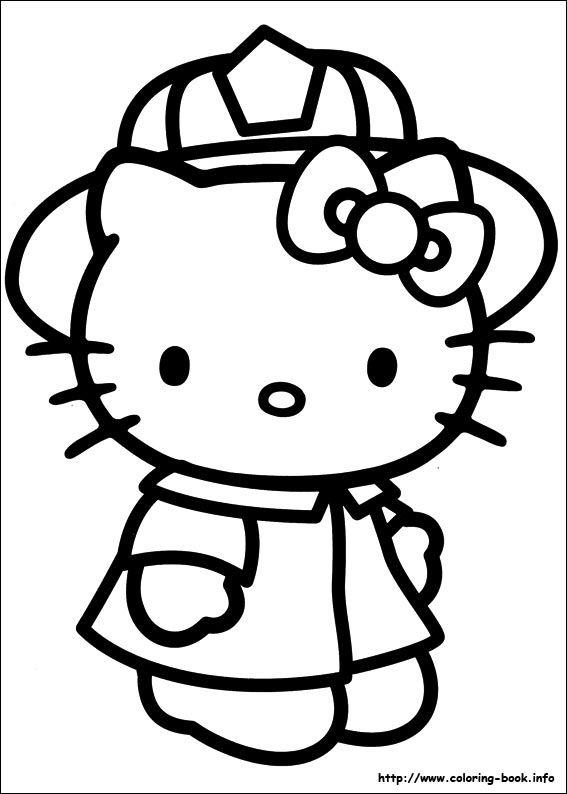 Carmen Baez Adli Kullanicinin Coloring Hello Kitty Panosundaki Pin Desenler Cizim Fikirleri Cizim