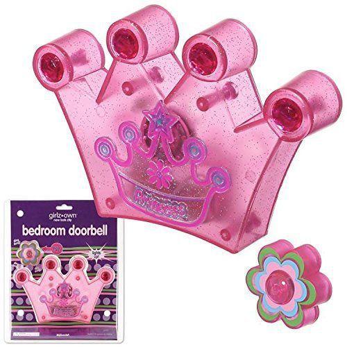 Princess Crown Tiarra Bedroom Doorbell Bed Room Door Bell Chime