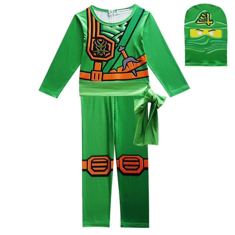 Boys Cosplay Costume Sets Children Halloween Ninjago Fancy Party Dress Up