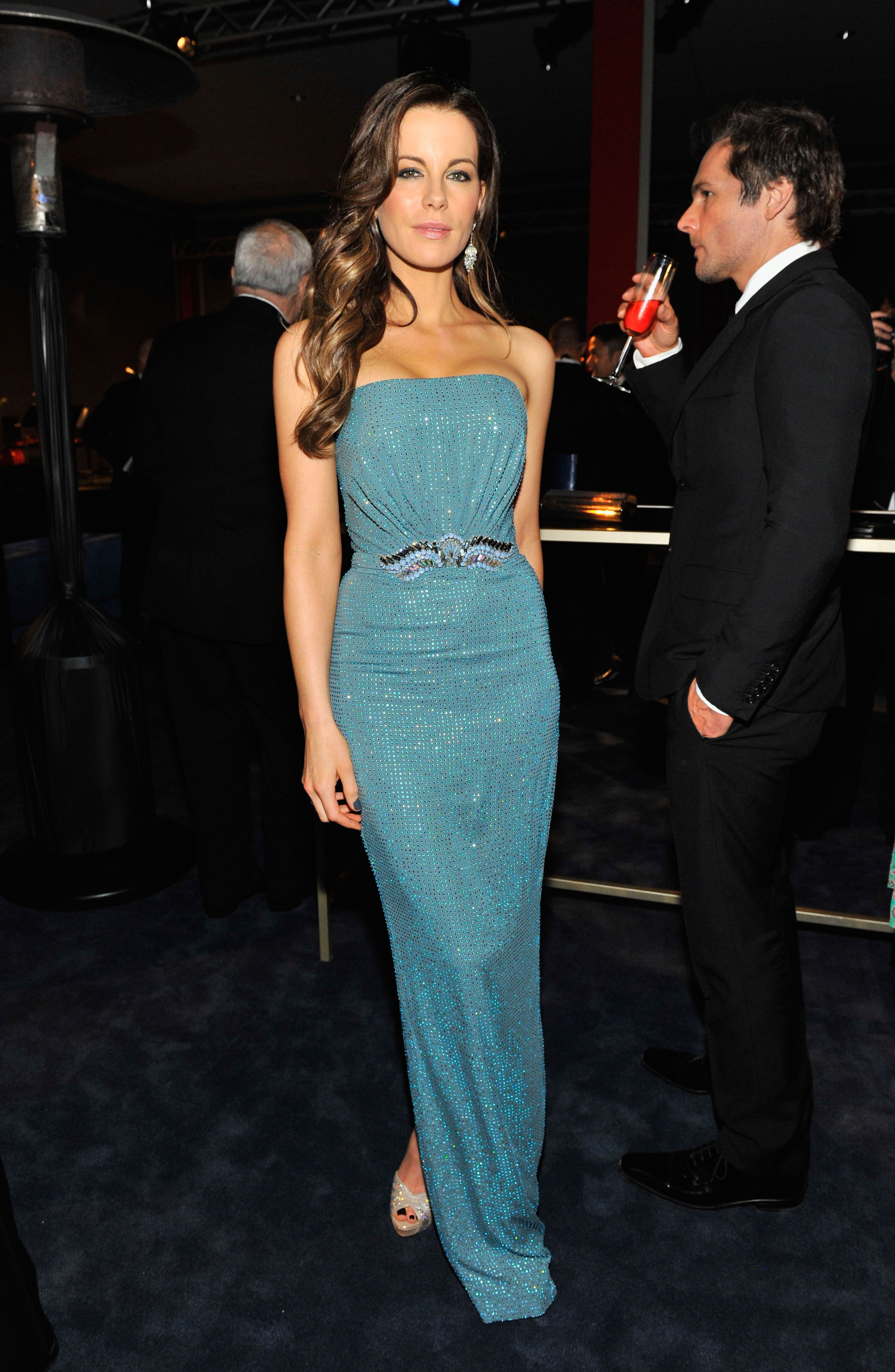 Actress Kate Beckinsale, wearing Gucci, attends the LACMA 2013 Art + ...