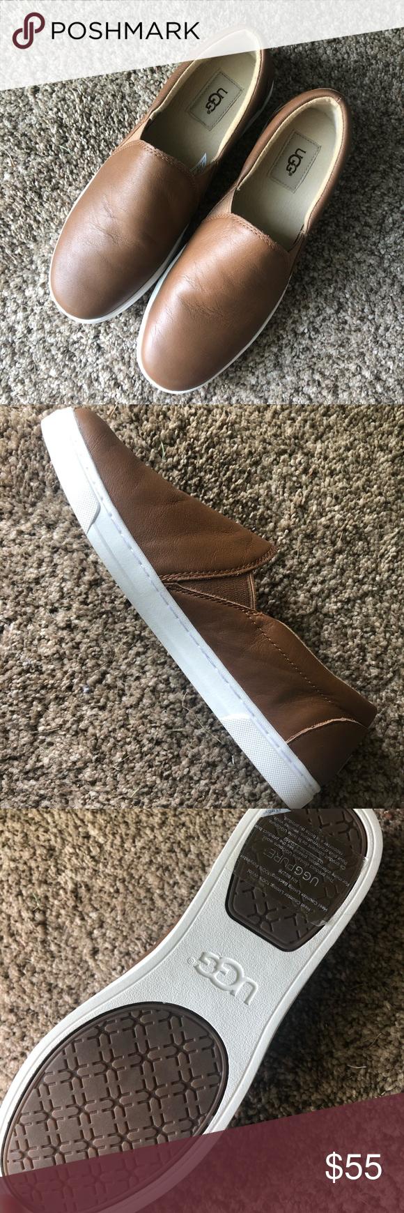 Ugg Kitlyn Leather slip on sneakers