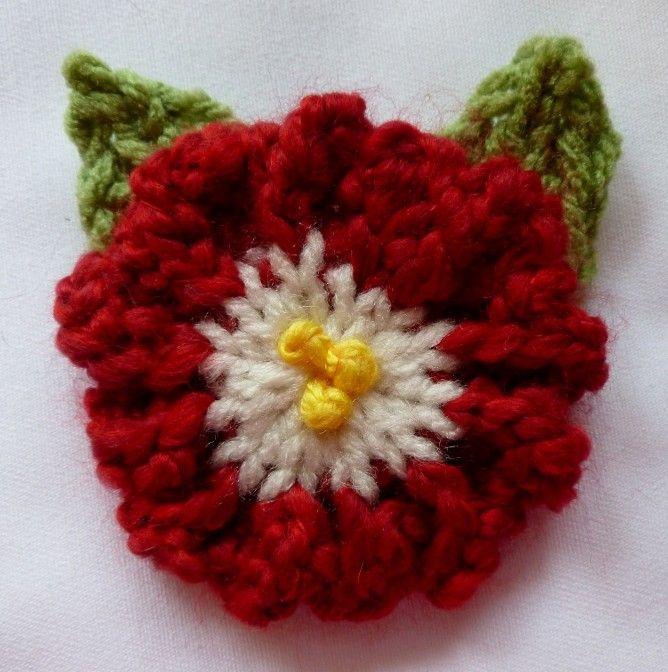 Loom Knit - Lovely Loopy Flowers on 12 peg flower loom from Loom ...