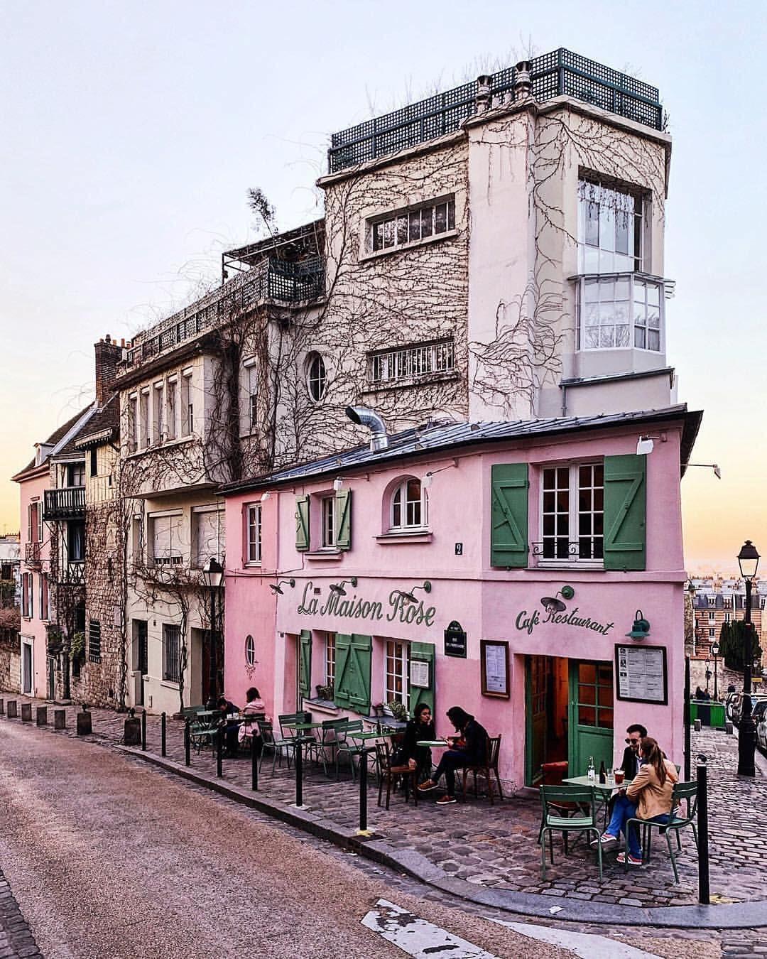 """Paris P@RIS #ThisisParis on Instagram: """"La Maison Rose, in"""