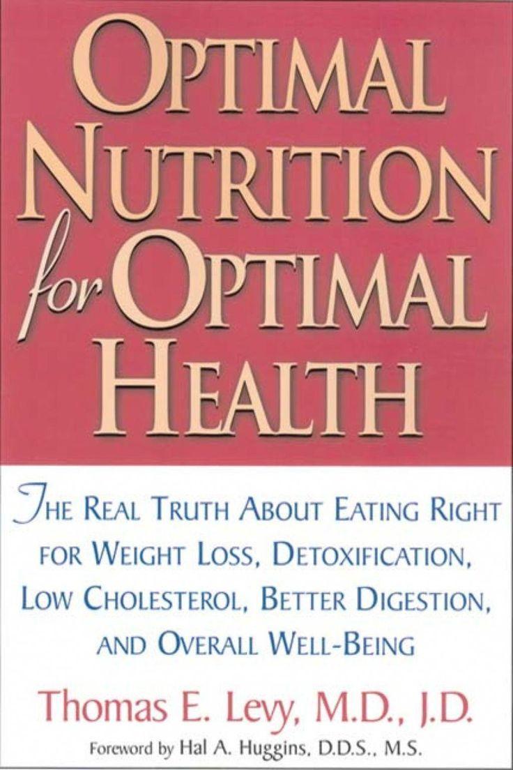 Optimal nutrition for optimal health ebook