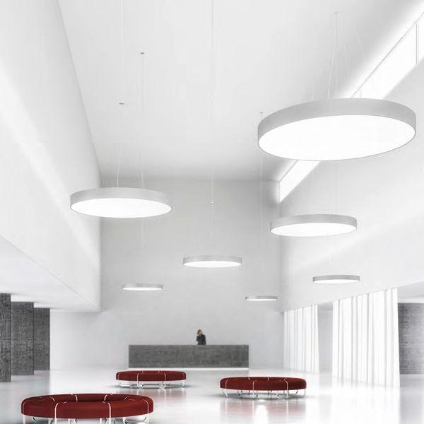 Prolicht Super Sign Round 650 Direct Pendant Lighting